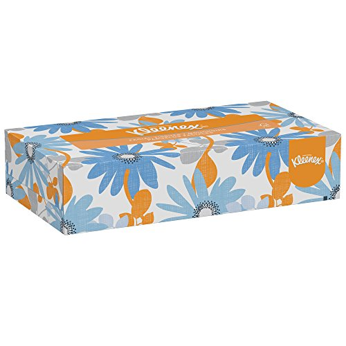 Kleenex Professional Facial Tissue for Business (21400), Flat Tissue Boxes, 36 Boxes / Case, 100 Tissues / Box Facial Tissue Case