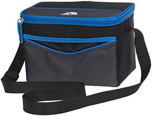 Igloo Collapse Cool 6 Tech Basic, Black Blue, 6 Cans