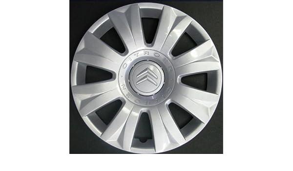 Wheeltrims Set de 4 embellecedores Citroen C3 Picasso 2010> / C3 2002> / C4 2010> / C4 Picasso 2006> con Llantas Originales de 15: Amazon.es: Coche y moto