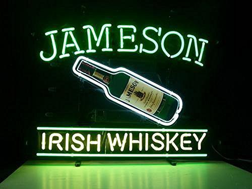 Jameson Irish Whiskey Neon Sign 24
