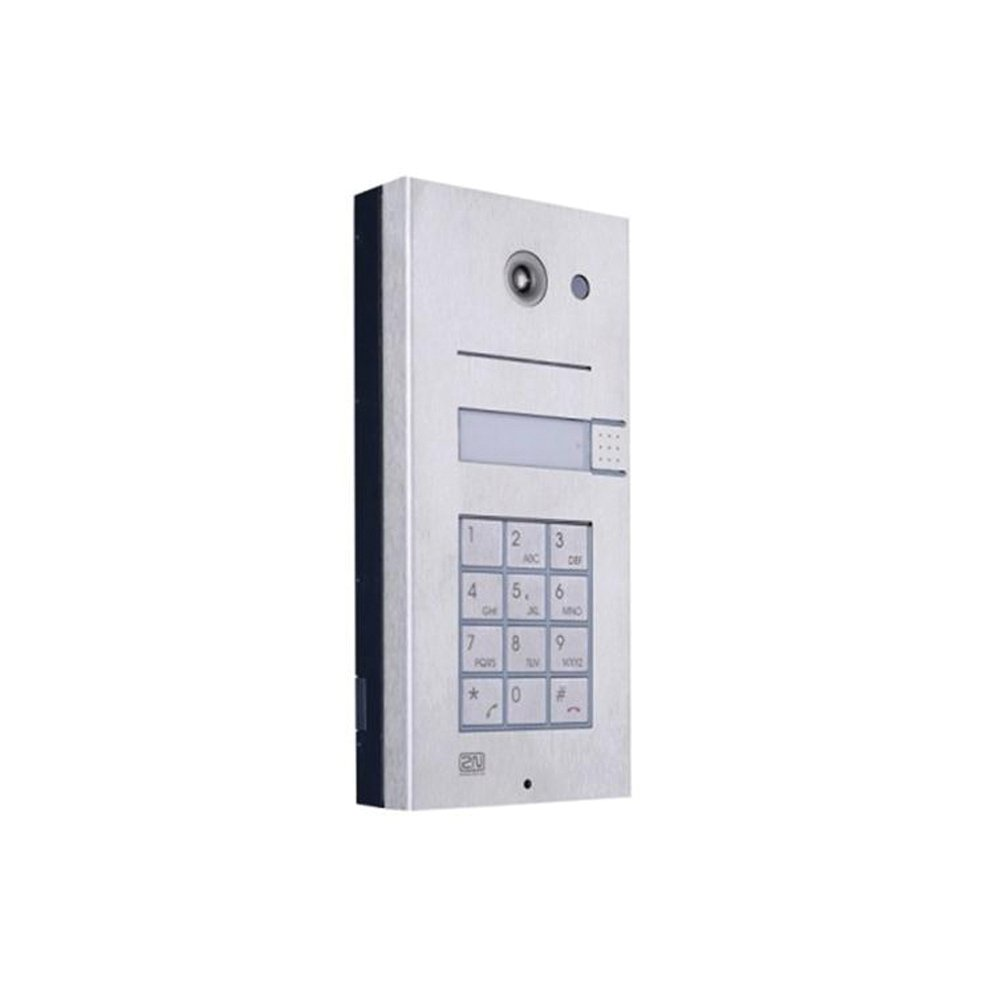 2N Helios IP 1 button camera keypad