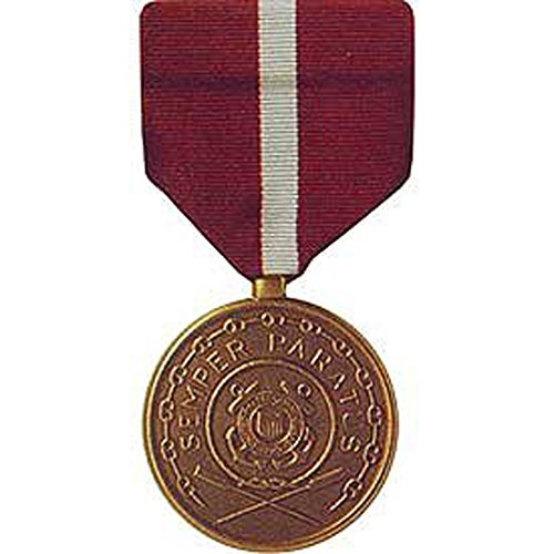 United States Military Armed Forces Full Size Medal - USCG Coast Guard & National Guard - Good Conduct (Good National Medal Conduct Guard)