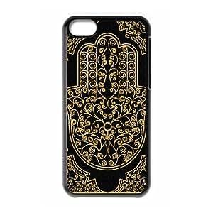 Hamsa Hand New Printed Case for Iphone 5C, Unique Design Hamsa Hand Case in DDJK CASE