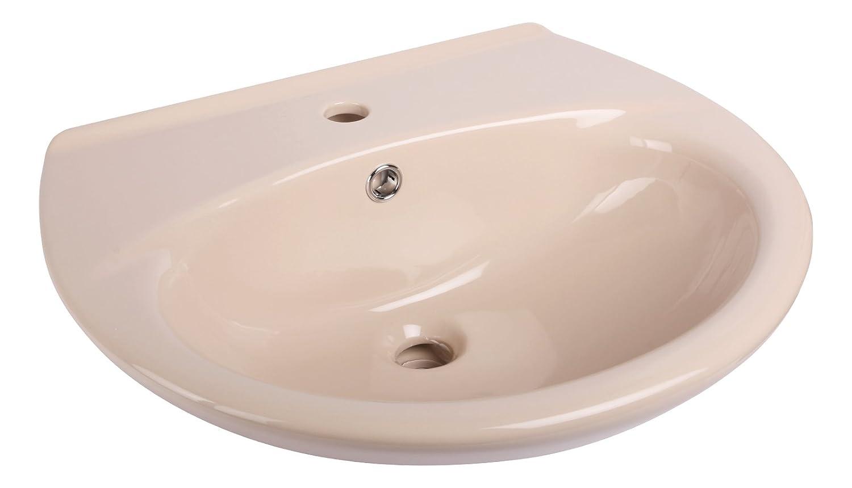 55 cm Beige , Waschbecken Waschtisch , npqfzf3733-Neues ...