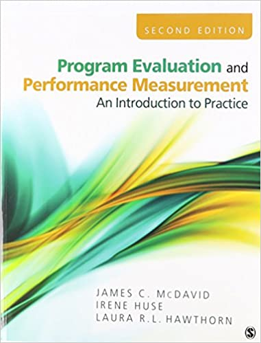 BUNDLE: McDavid: Program Evaluation and Performance Measurement 2e ...