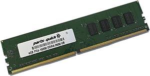 4GB Memory Module for Dell XPS 8920 Desktop Tower DDR4 2400MHz UDIMM Non-ECC RAM (PARTS-QUICK Brand)