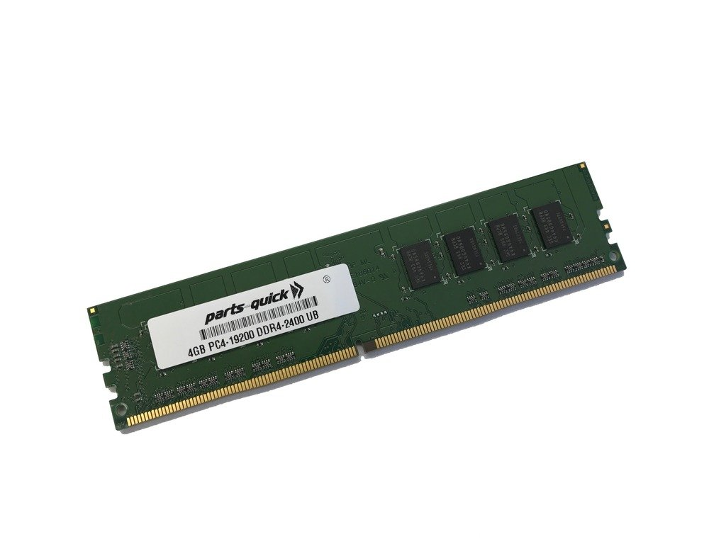 4GB Memory for ASUS H170-PRO/USB 3.1 Motherboard DDR4 2400MHz Non-ECC UDIMM Memory (PARTS-QUICK BRAND)