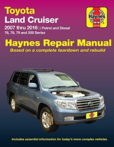 Toyota Land Cruiser Petrol & Diesel Automotive Repair Manual: 2007-2015: Part 92753 ()