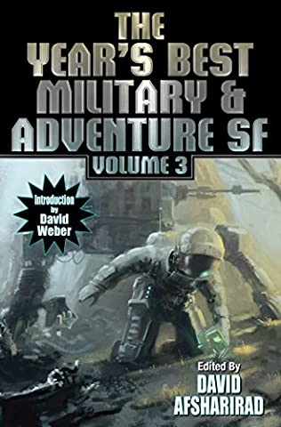 book cover of Year\'s Best Military and Adventure SF 2016