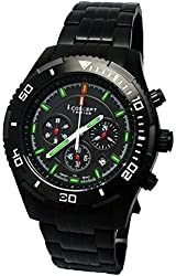 I.Concept Tritium GTLS Chronograph Watch (PVD Black)