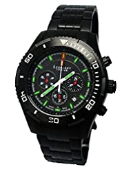 I.Concept Tritium GTLS Chronograph Watch (PVD Black)