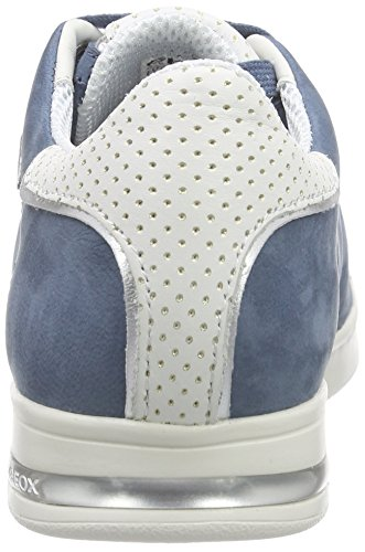 Geox Damen D Jaysen Een Sportschoenen Blau (denimc4008)
