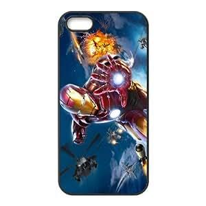 Iron Man SANDY0540113 Phone Back Case Customized Art Print Design Hard Shell Protection Iphone 5,5S