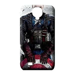 samsung galaxy s4 mobile phone carrying covers forever cases style captain america