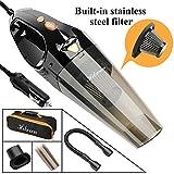Hikeren Car Vacuum Cleaner, DC 12-Volt 106W 4300-4500PA Handheld...