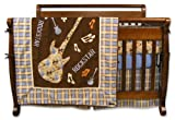 Trend Lab 4 Piece Crib Bedding Set, Rockstar