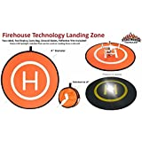 Firehouse Technology Drone UAS 4 Lighted Landing Pad for DJI Inspire 1 Phantom Mavic Yuneec Typhoon H