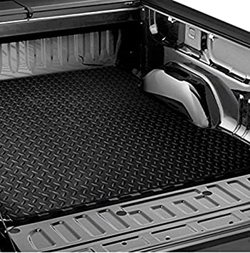 Amazon Com Hs Power Black Rubber Diamond Plate Truck Bed Trunk