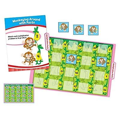 Carson Dellosa Math File Folder Game (140308): Carson-Dellosa Publishing: Office Products