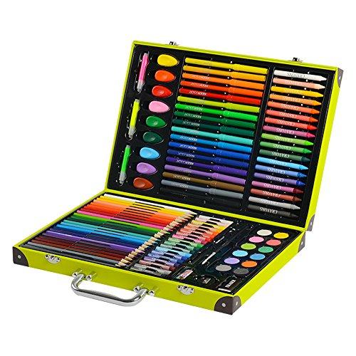 JIANGXIUQIN Artist Art Drawing Set, 118 Artworks, Crafts, Teachers, Amateurs, Professionals and Beginners of Various Art Supplies, School Supplies Gifts for Children and Children. by JIANGXIUQIN (Image #4)