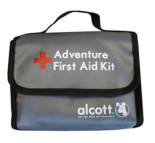Alcott Explorer 46-Piece First Aid Kit for Pets and People, Travel Size (First Aid For Animal Bites And Stings)