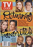 Tv Guide Sept 8-14 2001 Returning Favorites, Ally McBeal, Buffy, Judging Amy