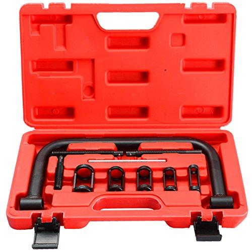 - DASBET Auto Solid Valve Spring Compressor C Clamp Service Kit