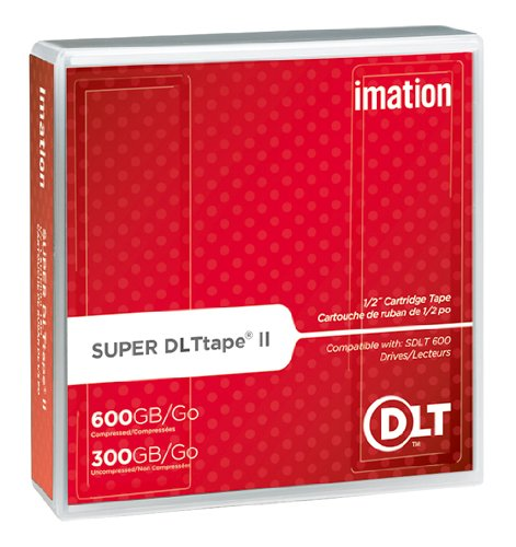 Imation Corp 1PK SDLT II 300/600GB-W/ CASE ( 16988 ) (Discontinued by (Imation Secure Drive)