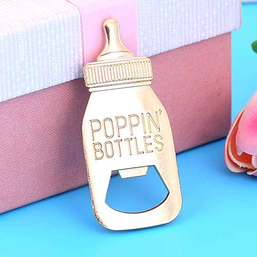30 Pcs Baby Shower Party Favors Return Gifts For Guests Baby Bottle Bottle Openers Decorations Boy Girl By Feracci by Feracci (Image #3)