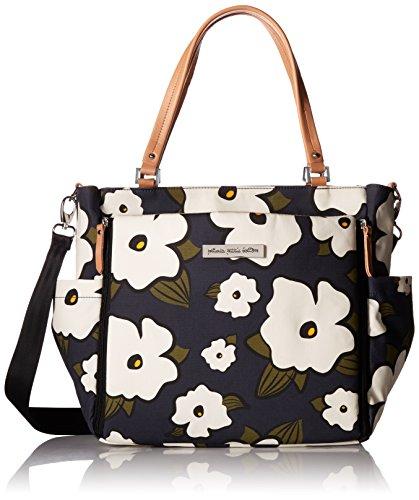 Petunia Pickle Bottom City Carryall Tote, Fields of Featherstone