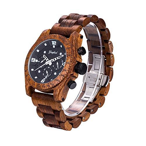GEZFEEL Men`s Wooden Watch