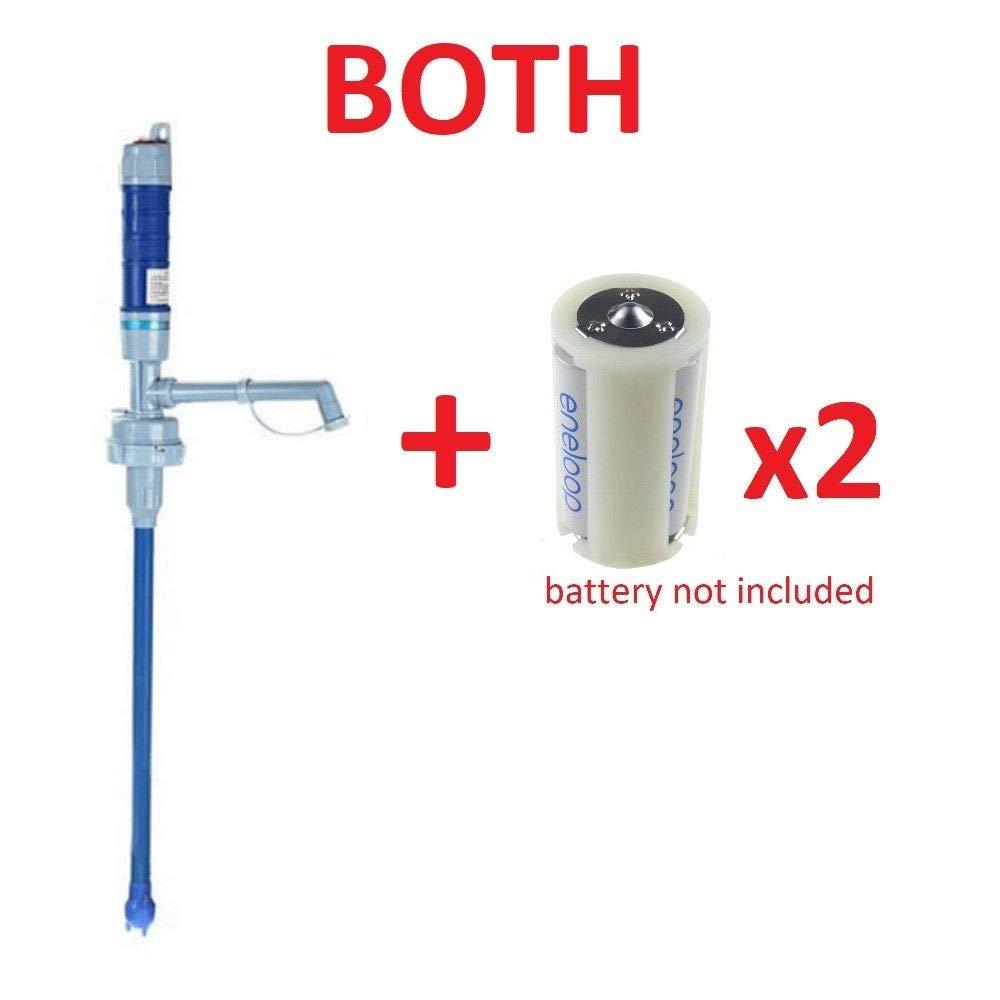 5 Gallon Drinking Water Jug Bottle Pump Electric Dispenser Home Office School (pump+adaptor)