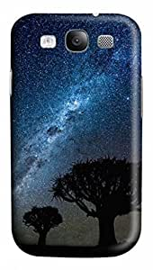 3D PC Case Cover for Samsung Galaxy S3 I9300 Custom Hard Shell Skin for Samsung Galaxy S3 I9300 With Nature Image- Mighty