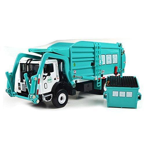 FUBARBAR Metal Model Car Toy Alloy Transformers Clean Garbage Trash Truck Model - Transformers Metal Toy