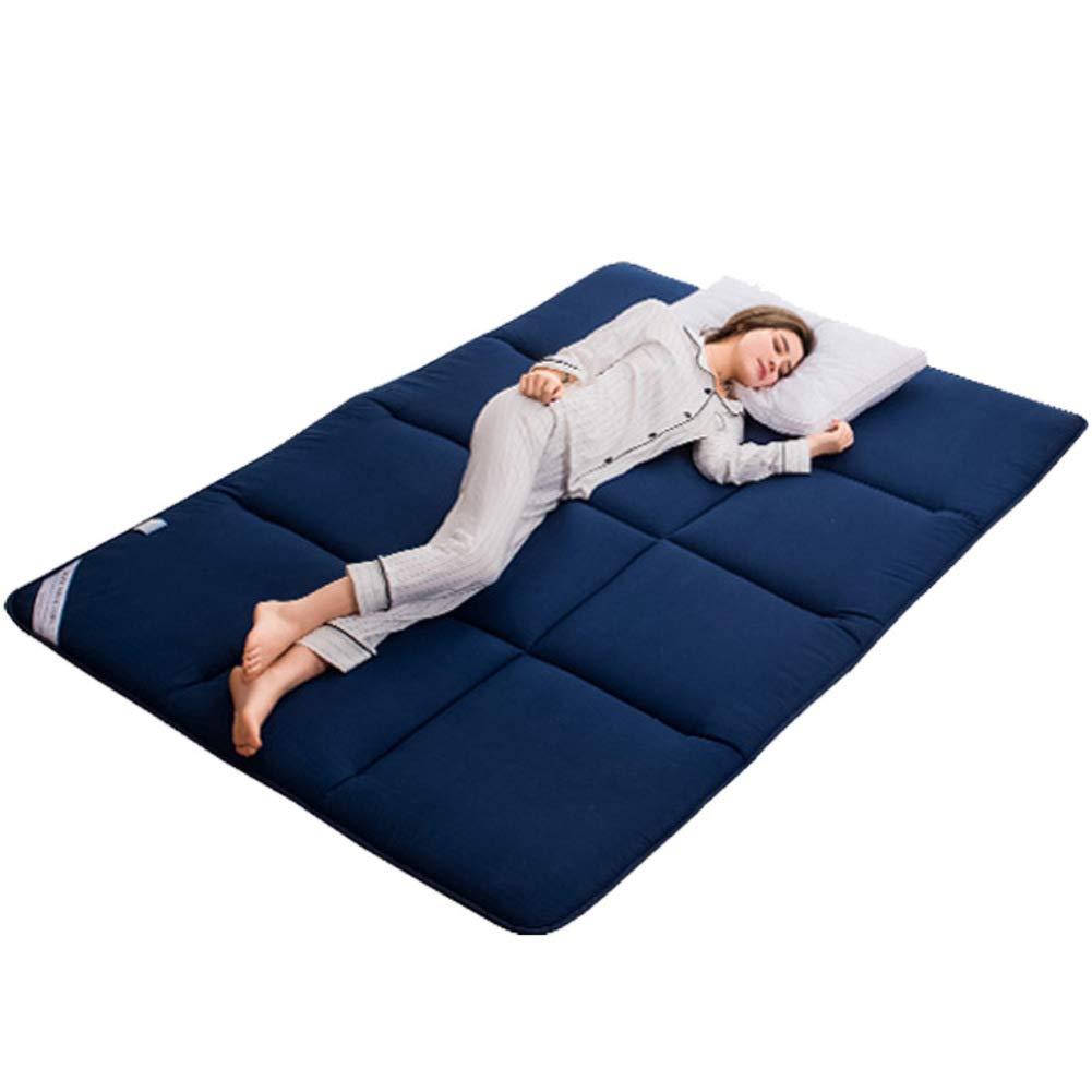 Thick Tatami Mattress Sleeping Pad,Breathable Soft Japanese Floor Futon Mattress,Premium Mattress Topper,Foldable Portable for Dorm-a 90x195cm 35x77inch