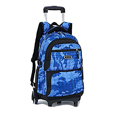 best Meetbelify Trolley School Bags Backpack For Boys With Wheels Climbing  Stairs 031505b8fa293