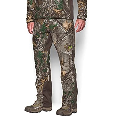 dd24cd7d536ef Under Armour Men's Stealth Fleece Pants, Realtree Ap-Xtra (946)/Velocity