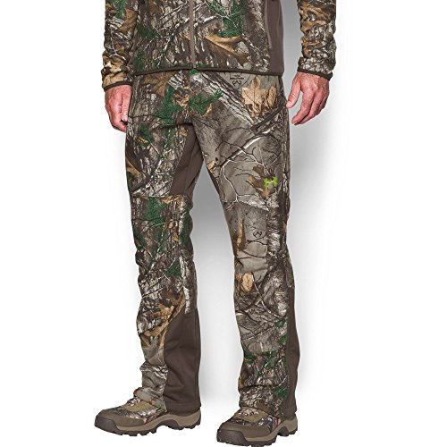 Under Armour Men's Stealth Fleece Pants, Realtree Ap-Xtra (946)/Velocity, 34/32