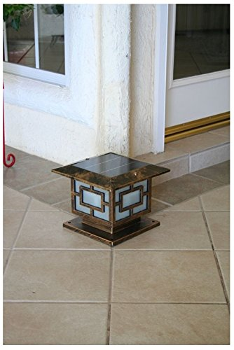Premium Solar Light for 10 Inch Square Posts or Pillars