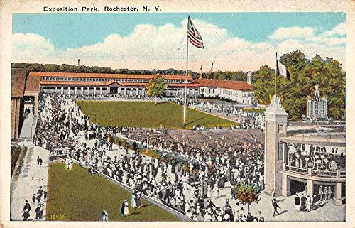 Rochester New York Exposition Beach Crowd Vintage Postcard JF686904