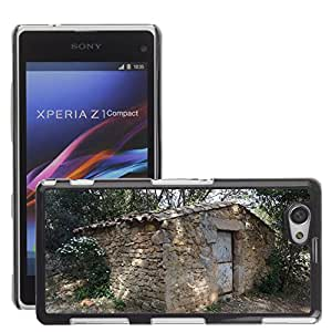 Hot Style Cell Phone PC Hard Case Cover // M00307748 Pierre House Refuge Village // Sony Xepria Z1 Compact D5503