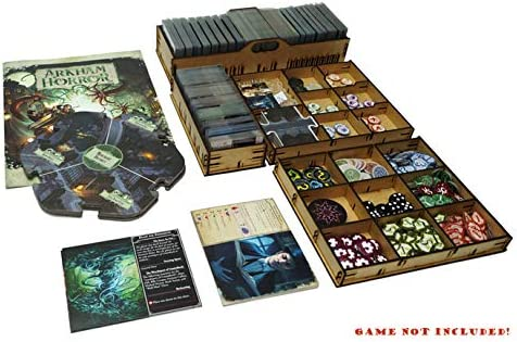 docsmagic.de Organizer Insert for Arkham Horror 3rd Edition Box - Encarte: Amazon.es: Juguetes y juegos