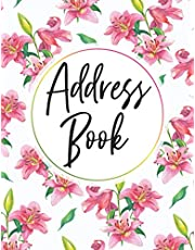 Address Book: Address Book Large Print For Seniors or Elderly : Large Address Books With Alphabet Index : Name, Address, Phone, E-mail address with Note Section : A-Z Alphabetical Index (2)