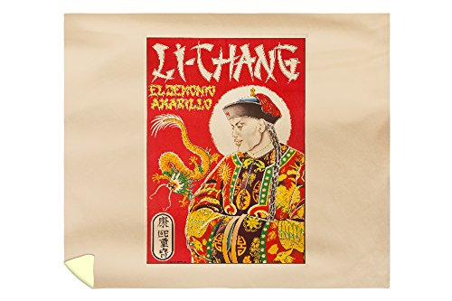 Li Chang Vintage Poster (artist: Noblom) Spain c. 1946 (88x104 King Microfiber Duvet Cover) by Lantern Press