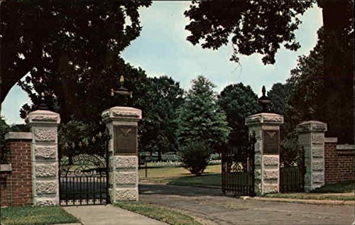 Corinth National Cemetery Corinth, Mississippi Original Vintage Postcard - Cemetery Postcard