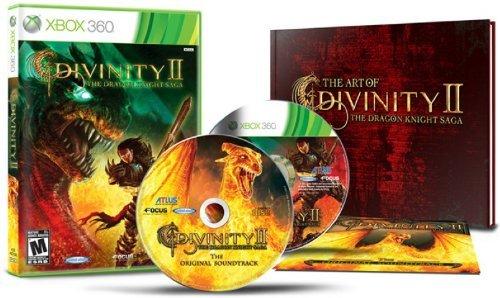 Divinity II The Dragon Knight Saga Limited Edition w/ Artbook & Soundtrack