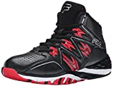 Fila Men's Posterizer Basketball Shoe, Black/Black/Fila Red, 10 M US