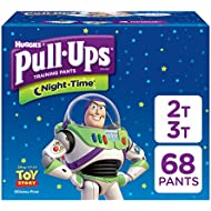 Pull-Ups Night-Time Potty Training Pants for Boys, 2T...