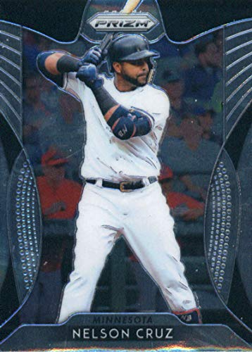 2019 Panini Prizm #111 Nelson Cruz Minnesota Twins Baseball Card