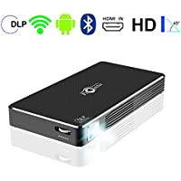 Sugoiti Pico 100 Lumens Home Theater Video DLP Projector for PC Laptop Smartphone